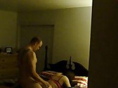 Amateur Sex im Ehebett